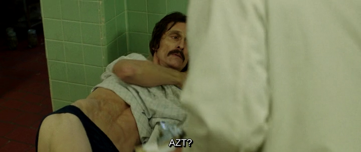 Matthew McConaughey Underwear Dallas Buyers Club