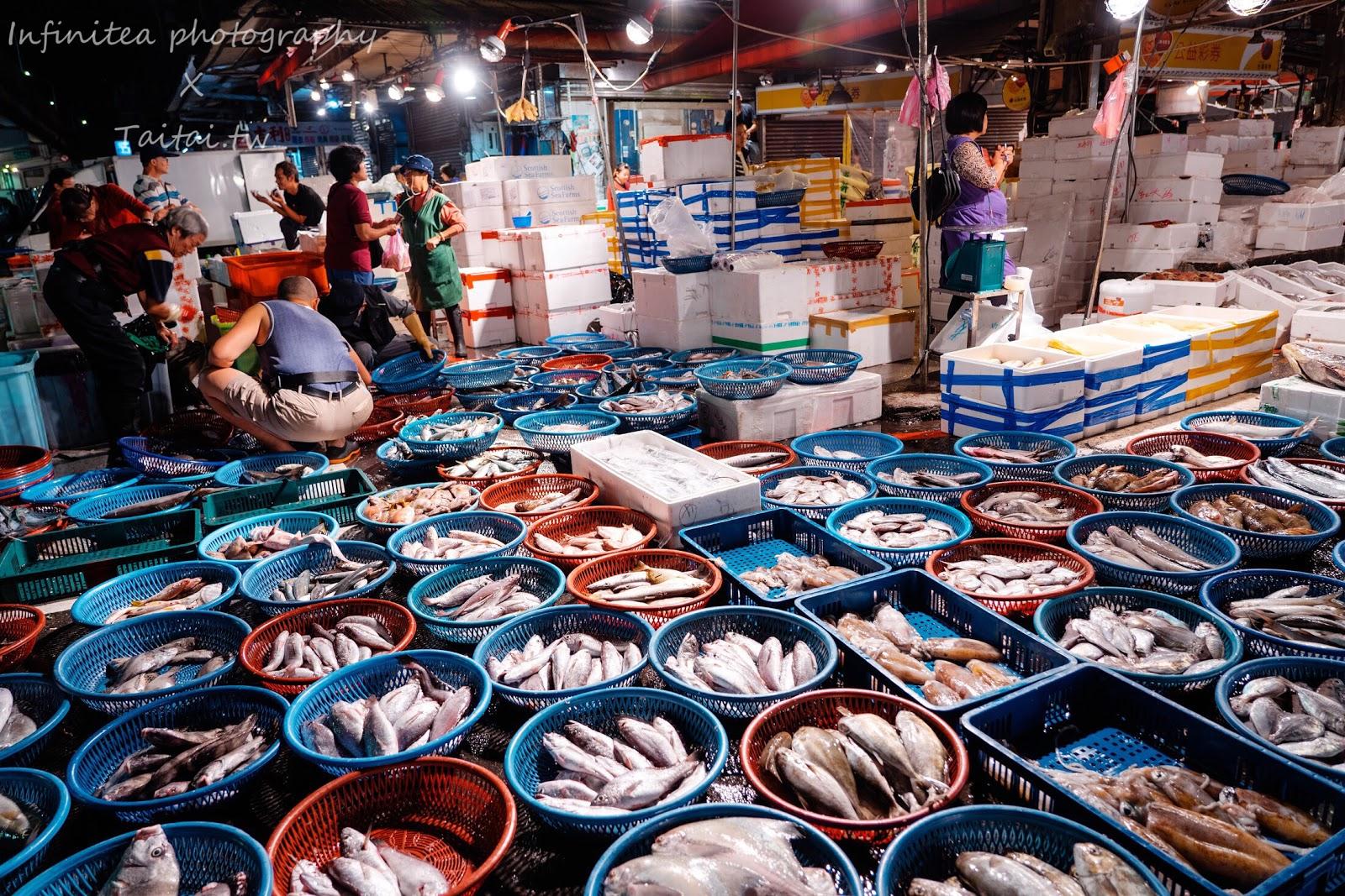 【臺灣.基隆】深夜限定魚市場!跟著海產店老闆去買魚 崁仔頂魚市場 基隆私房景點