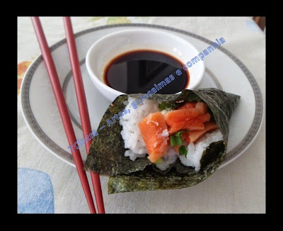 SUSHI; TEMAKI; comida japonesa, frutos do mar
