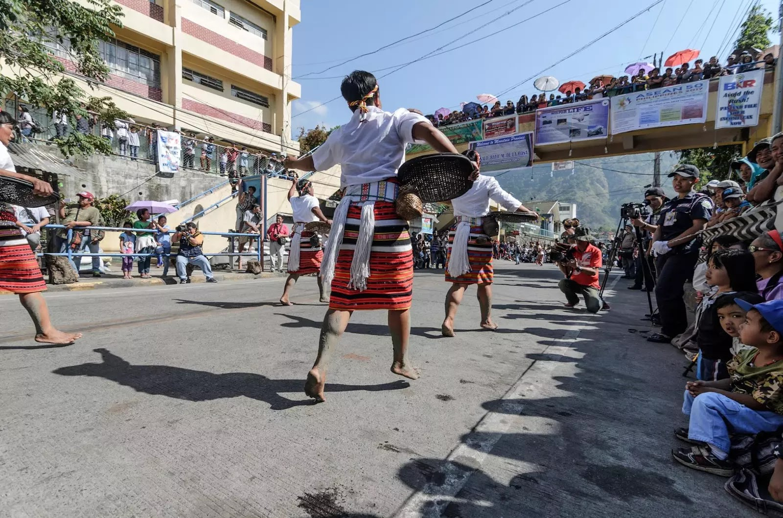 Mountain Province 13th lang-Ay Festival Street Dancing in the Streets of Bontoc