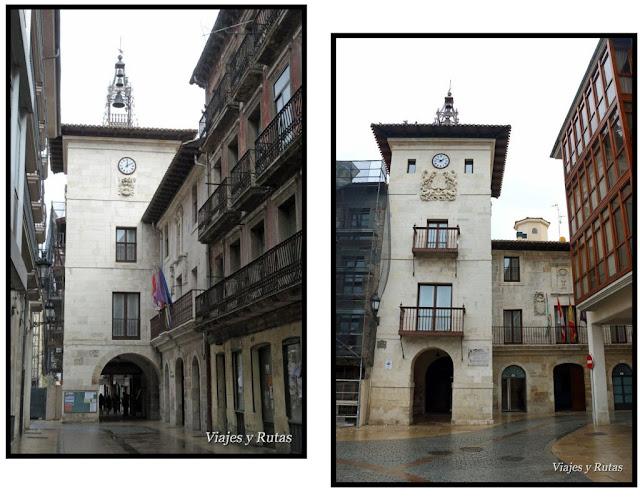 Edificio del ayuntamiento de Briviesca