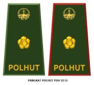 PANGKAT POLHUT III D TERBARU