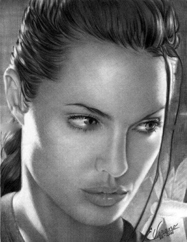 Рисунки карандашом. Elia Verano 10