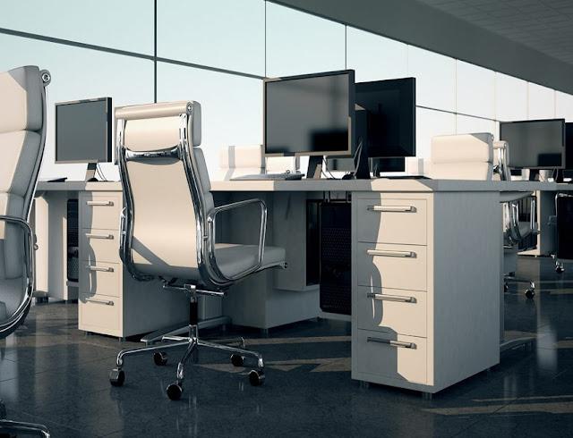 best buy JC white office furniture sets for sale online