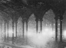 Austerlitz, Sebald, station in the mist, photo