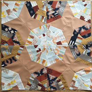 Spiderweb quilt blocks