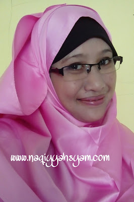 Naqiyyah Syam Pakai Sulamit Kosmetik