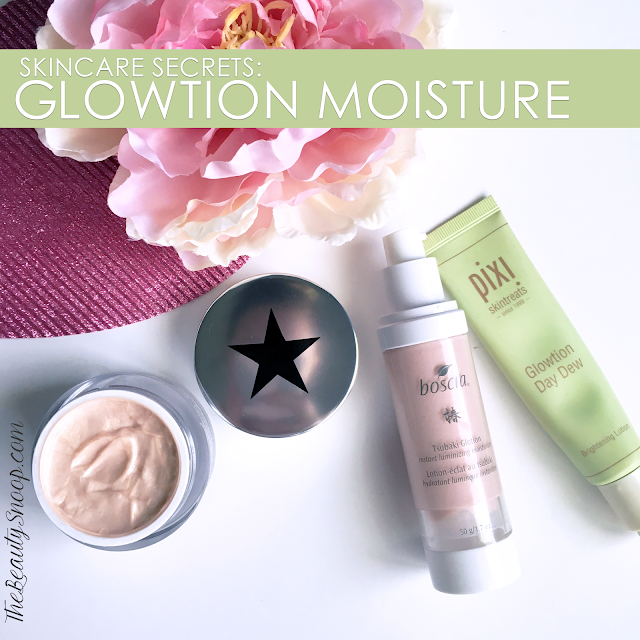Skincare secrets, glowtion reviews, glowing lotion, dewey moisturizer