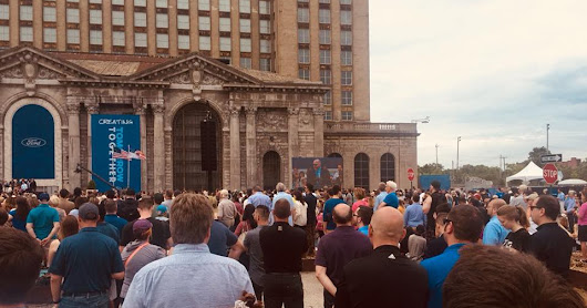 Ford announces their plans for Michigan Central Station