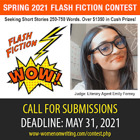 Spring 2021 Flash Fiction Contest - Deadline February 28, 2021