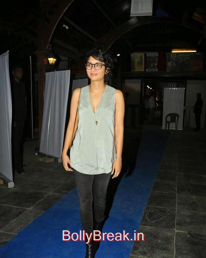 Kiran Rao, amyra, Kiran, Nandita at CinePlay Festival Act Opening