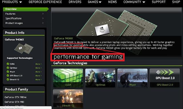 a placa de video nvidia geforce 940mx é boa para jogos