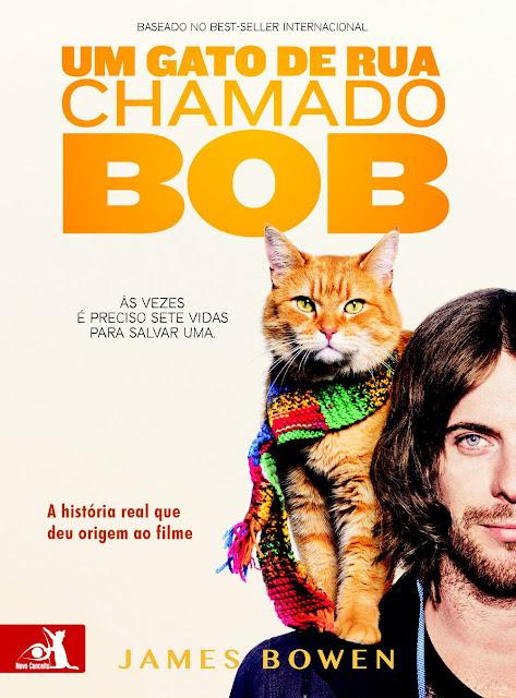 Um gato de rua chamado Bob - livro - filme