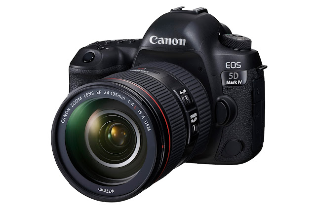 Canon 宣佈新上市的專業級全片幅數位單眼相機 EOS 5D Mark IV 搭配新一代全片幅標準變焦鏡頭組合 EF 24-105mm f4L IS II USM 開賣