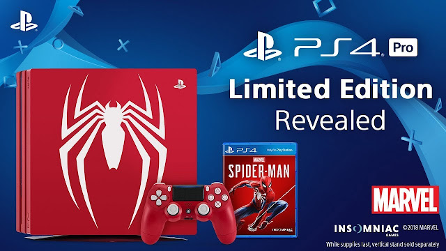 Sony Rilis PS4 Special Edition Spider-Man, Stok Terbatas