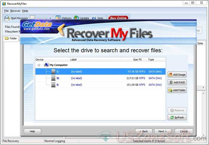 Recover My Files- best documents, photos, video, music and email software