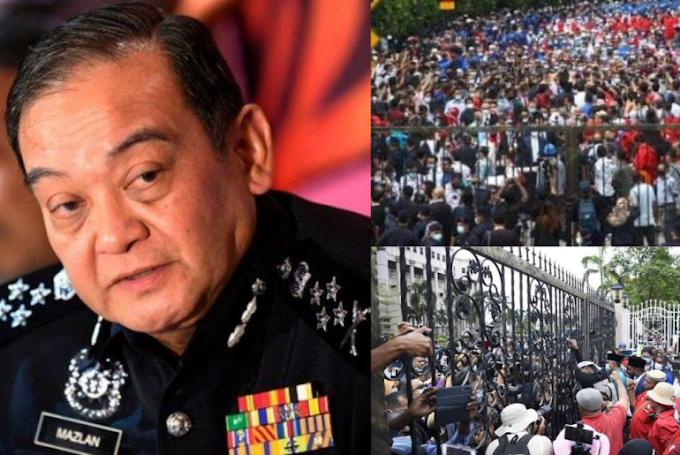 Polis Panggil Penganjur Perhimpunan Yang Di Adakan Di Hadapan Mahkamah Tinggi