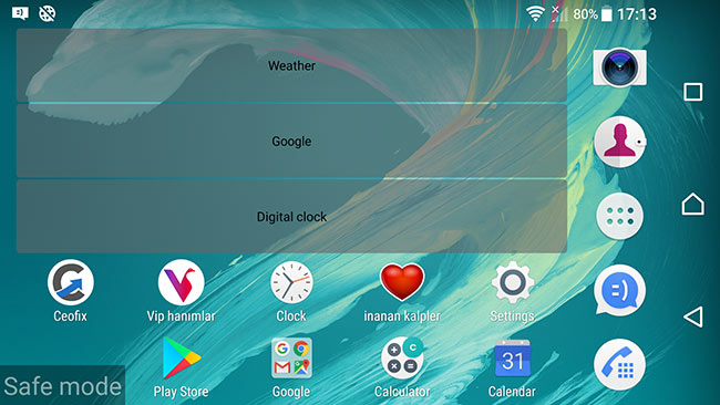 How To Turn On Safe Mode On Sony Xperia XA Ultra F3211