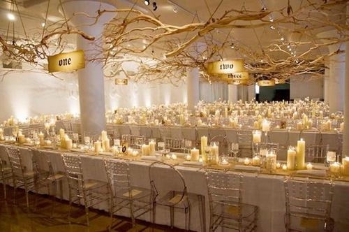 Evening Wedding Decoration Ideas