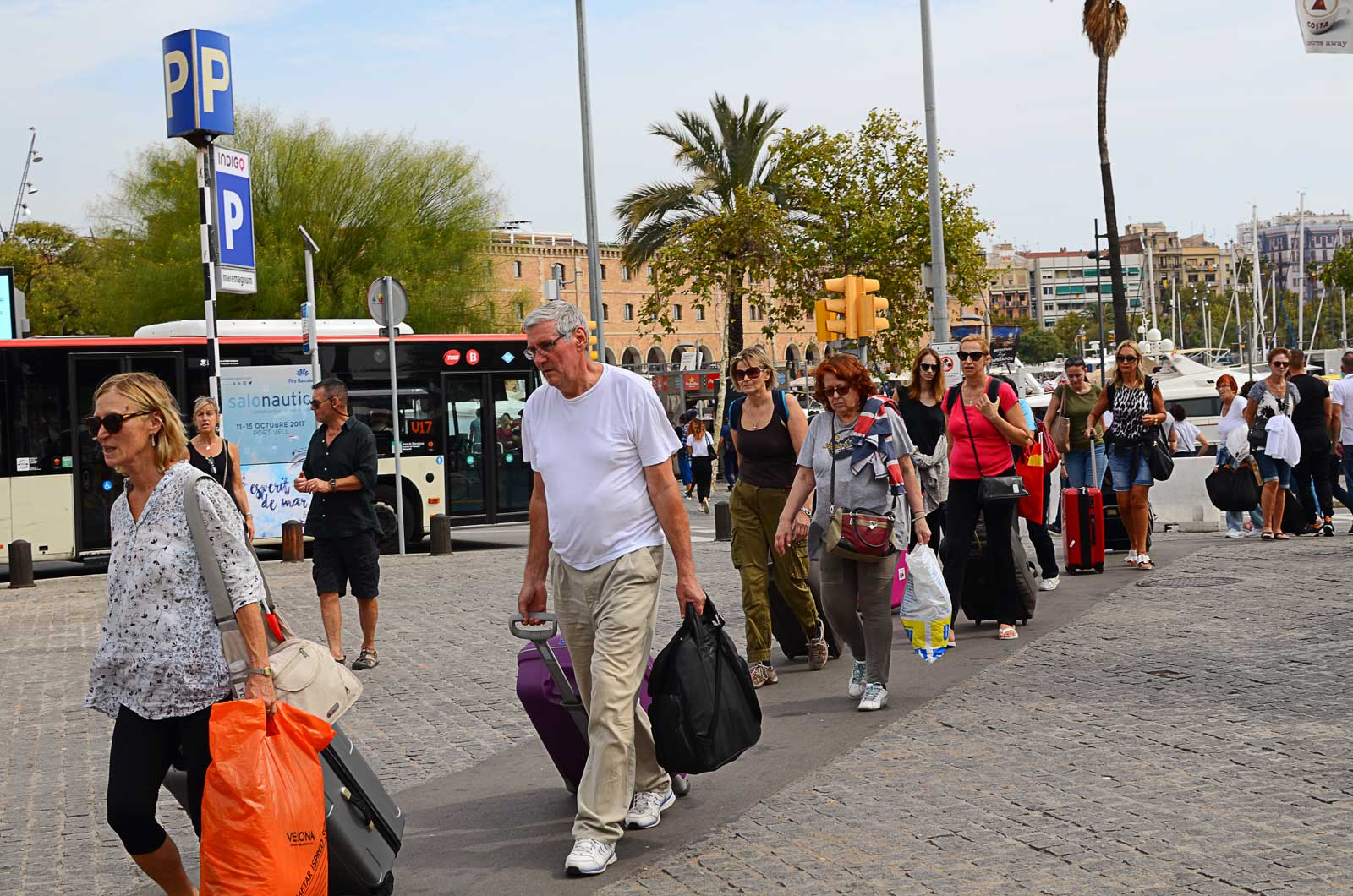 Mass Tourism in Barcelona