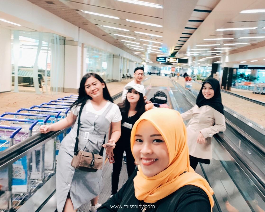 pengalaman transit di changi airport singapura