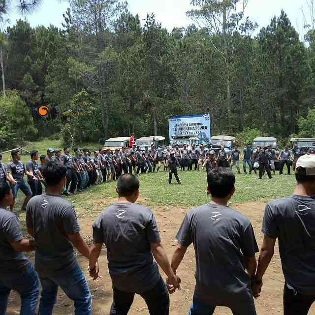 serunya outbound game bersama gravity adventure