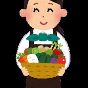 野菜ソムリエのイラスト