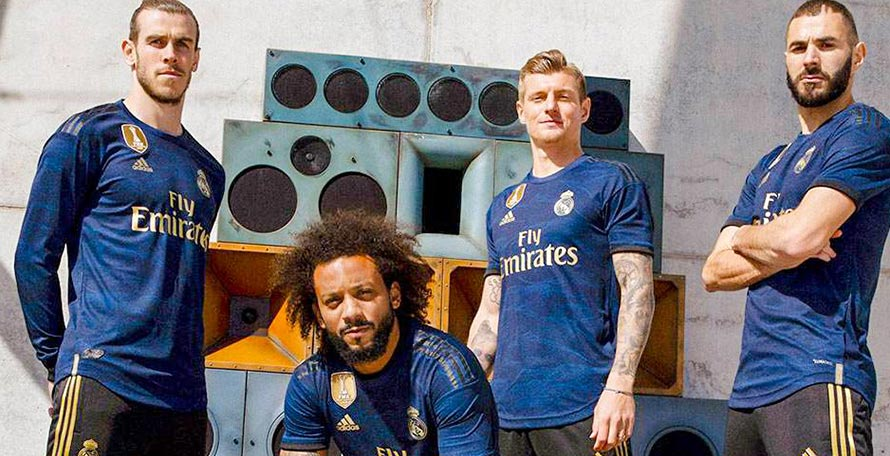 sports shoes c5e20 dd196 Real Madrid 19-20 Away Kit Released - Footy Headlines