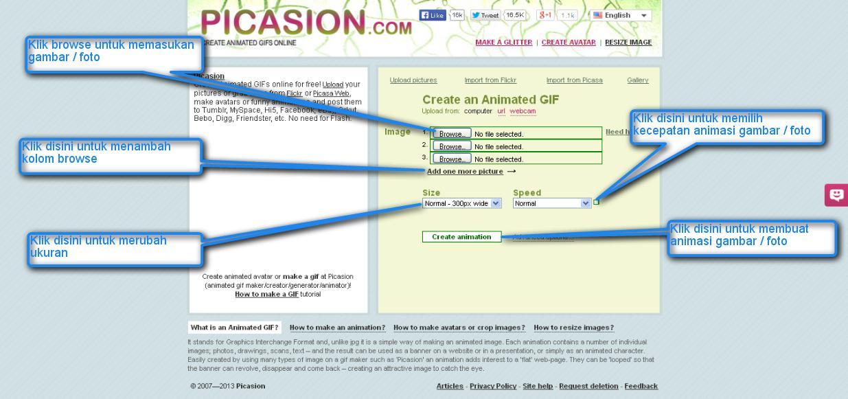 Cara Membuat Gambar Animasi GIF Online