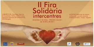 II FIRA SOLIDÀRIA INTERCENTRES