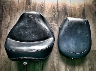 Mustang Two-Piece Wide Touring Seat