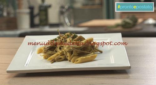 Pronto e postato - Carbonara di carciofi ricetta Benedetta Parodi