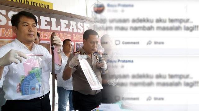 Lihat Status-status Di Akun FB-nya yang Religius Orang Nggak Bakalan Nyangka Kalau Bayu Begal yang Ditembak Mati Polisi Gegerkan Medan  ...