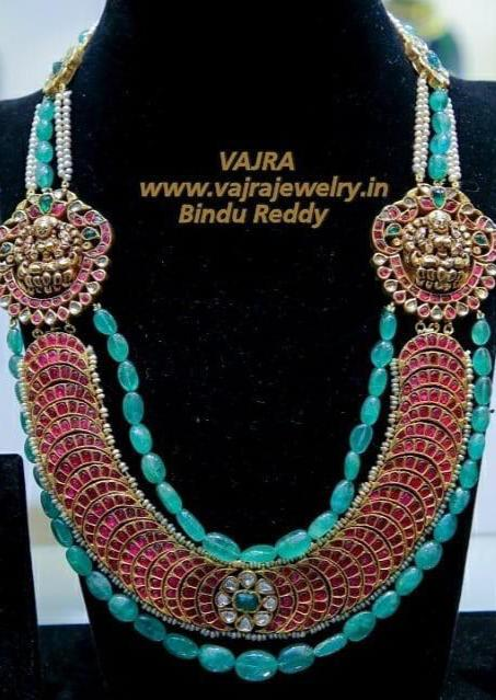 Kundan necklaces from Vajra Jewelry