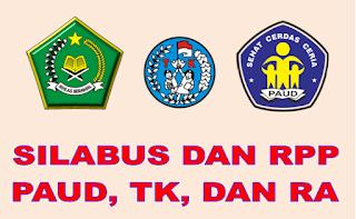 Download File Contoh Silabus dan RPP PAUD, TK dan RA