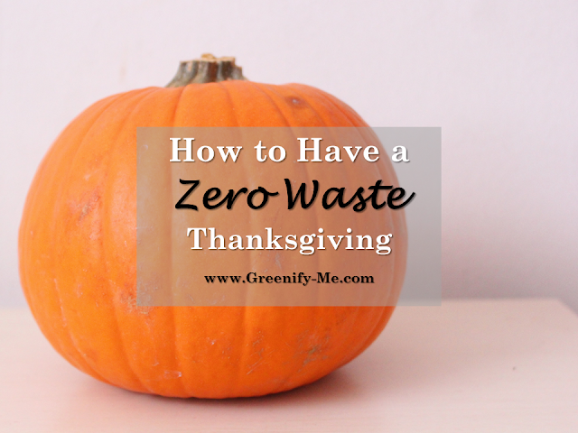 zero waste thanksgiving