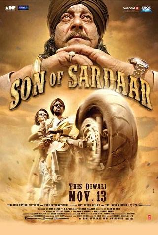 Son Of Sardaar 2012 Full Hindi Movie Download 400MB BluRay 480p Watch Online 9xmovies Filmywap Worldfree4u