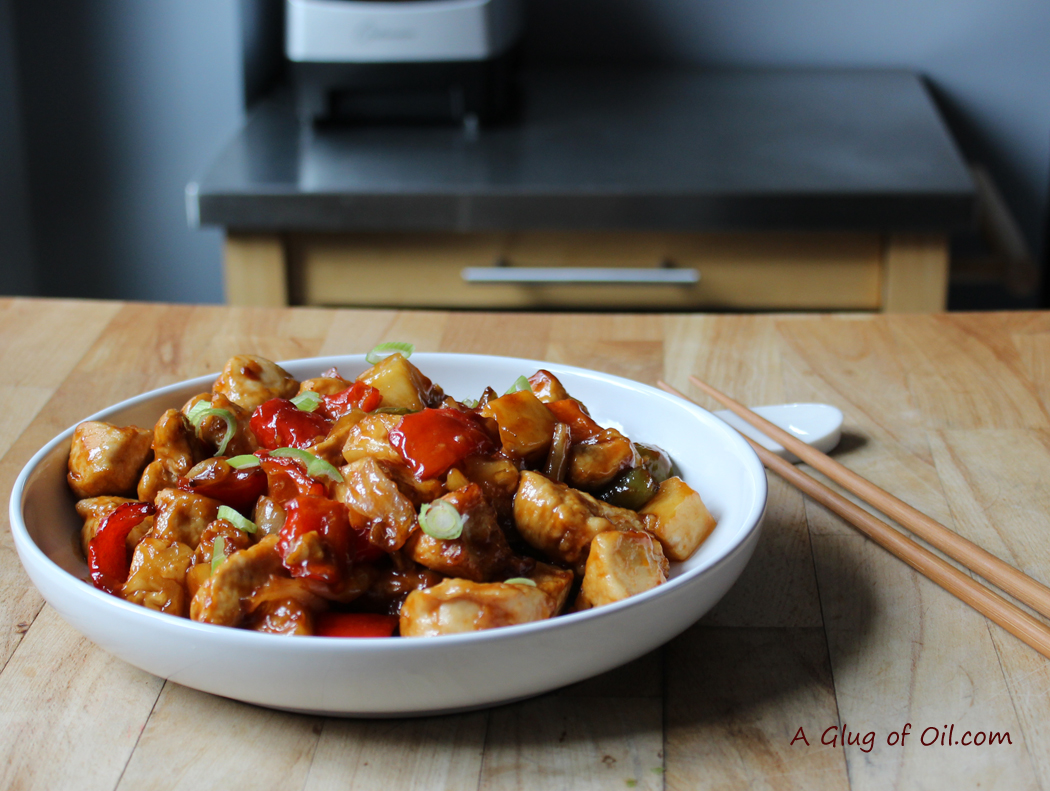 tefal actifry recipe sweet and sour chicken a glug of oil. Black Bedroom Furniture Sets. Home Design Ideas
