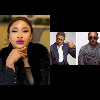 Actress Tonto Dikeh, Show Interest In Joining M.I And Vector, In The 40Million Rap Battle