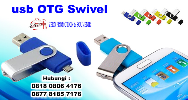 Flashdisk OTG Swifel – OTGPL01, OTG USB drive, usb OTG Swivel Promosi, USB Smartphone Swivel, USB On The Go (OTG), Twister OTG
