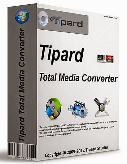 Tipard Total Media Converter Platinum 6.2.30.34280 + Crack