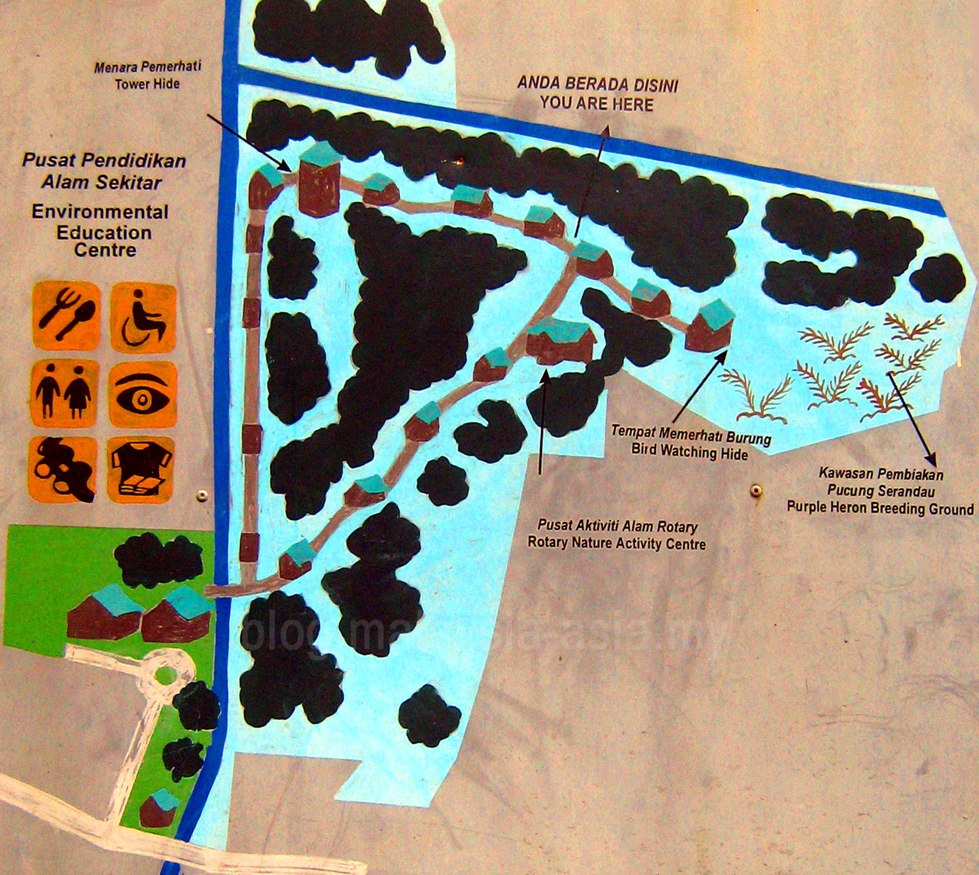 KK Wetlands Map