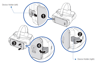 Gear VR Manual Instuctions
