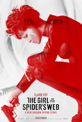 The Girl in the Spider's Web: A New Dragon Tattoo Story Poster