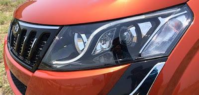 New Mahindra XUV 500 Headlight picture