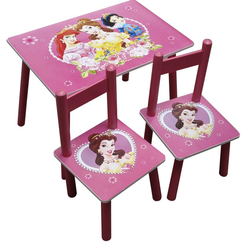 My Cherry Trading Disney Princess Square Table And Chair Set