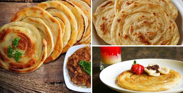 Cara Membuat Roti Maryam Sendiri
