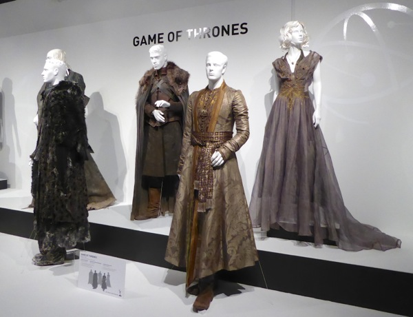 Game of Thrones costume exhibit