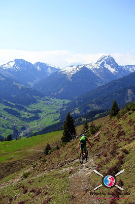 Mountainbiken in den Kitzbüheler Alpen