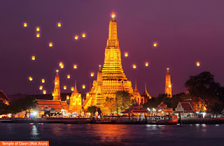Cover Photo: Temple of Dawn (Wat Arun)